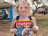 <em>Highlights</em> magazines were provided by Highlights for Children. &copy; Denise Gary