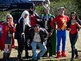 Members of Arizona Avengers and Justice League Arizona came out to support the cause. © Bruce Matsunaga