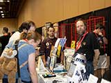 Arizona Browncoats Raymond Wolfe and Brian Esterson volunteer at the KNTR booth. © Bruce Matsunaga