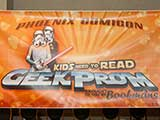 The Kids Need to Read Geek Prom at Phoenix Comicon, Sponsored by Bookmans © Bruce Matsunaga